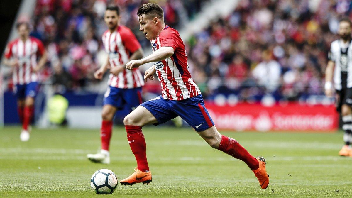 Simeone passe à l'action avant la finale contre l'OM — Atlético