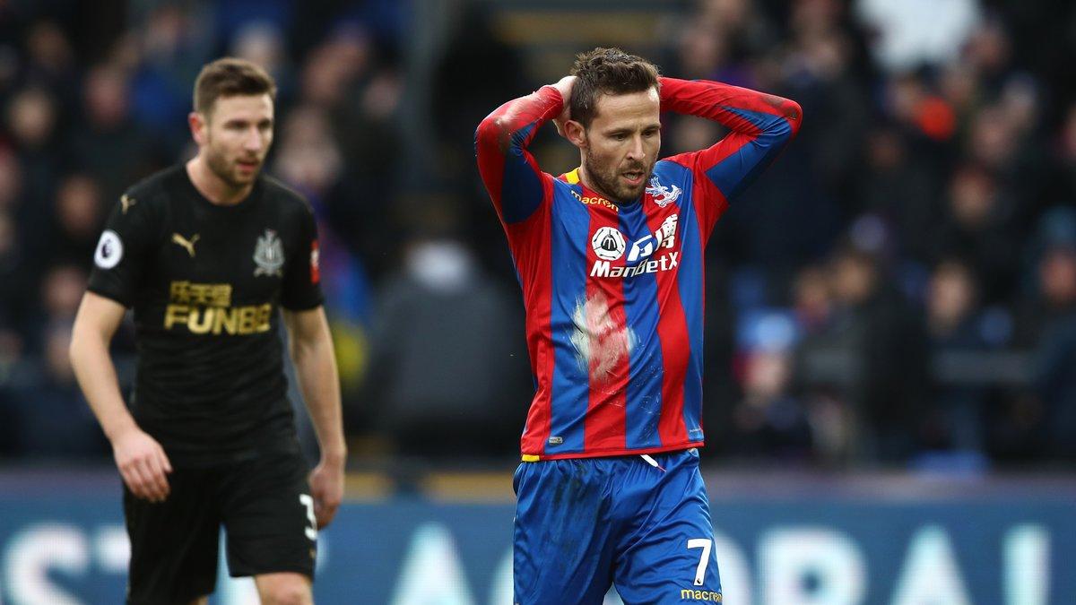 Annoncé proche de l'OM, Cabaye devrait prolonger à Crystal Palace