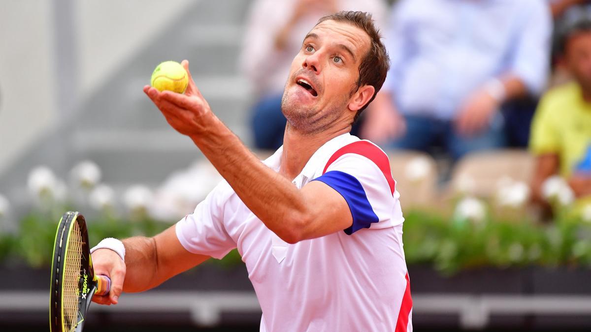 Gasquet domine Jaziri et attend Nadal — Tennis / Roland-Garros