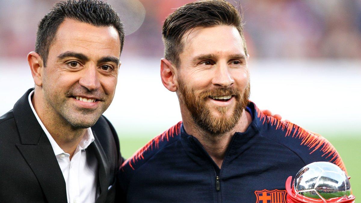 Football:  Xavi Hernandez fait une révélation sur l'état physique de Messi