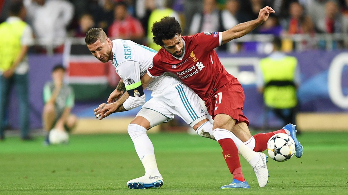 International : Real-Liverpool : La réponse de Salah à Sergio Ramos