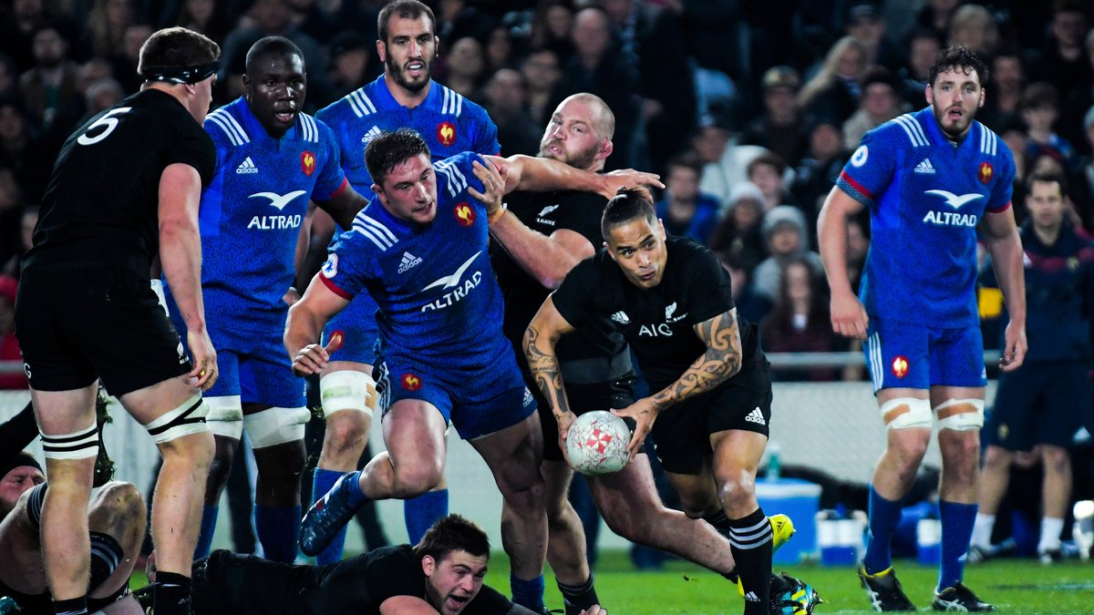 Un Français charge l'arbitrage contre les All Blacks