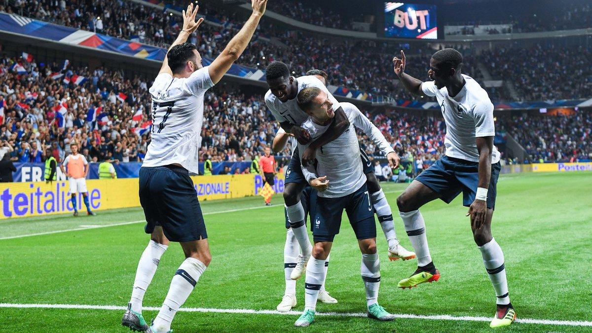 Hernandez, Tolisso et Dembélé titulaires face à l'Australie — Bleus