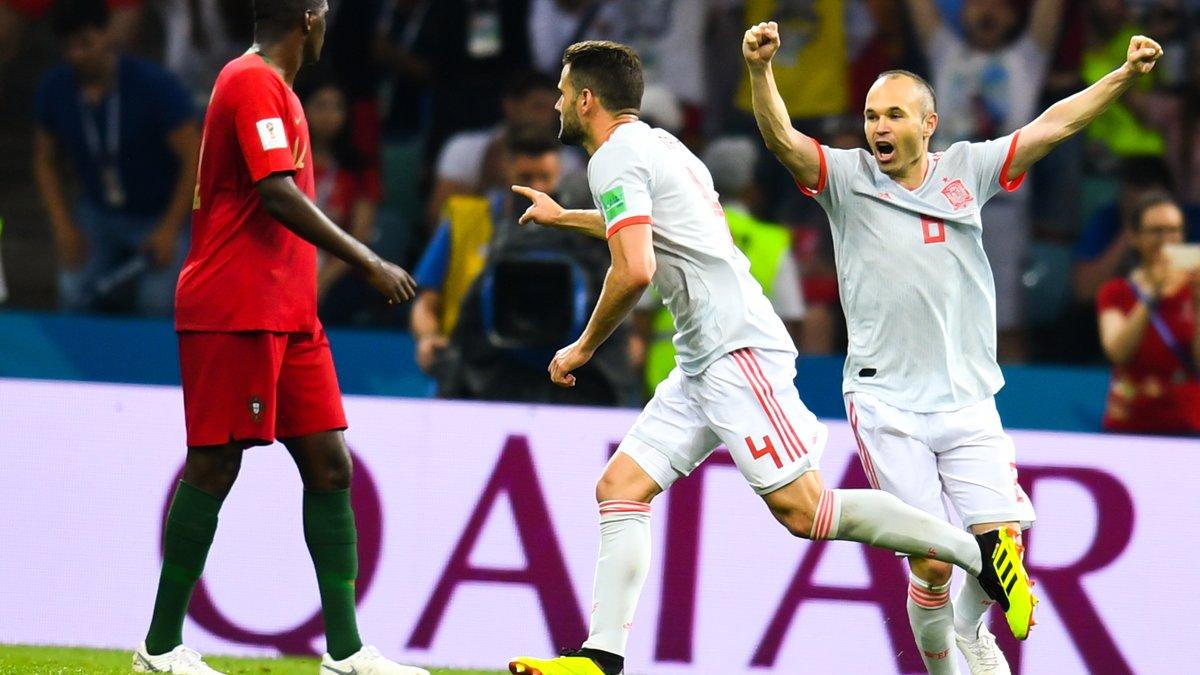 Coupe du monde : l'Espagne s'impose difficilement face à l'Iran (vidéo)