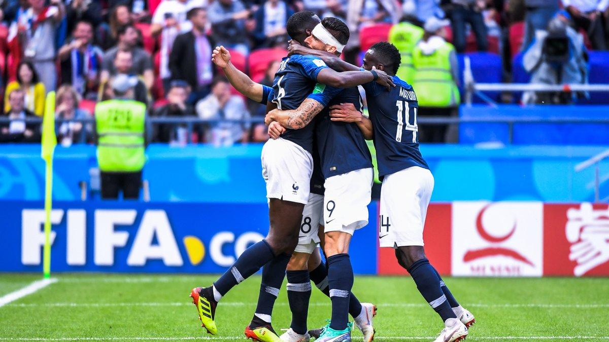 Coupe du monde Les Bleus qualifiés : France-Pérou en photos