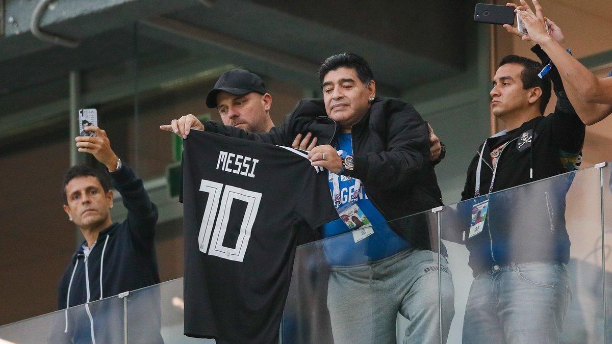 Nigéria (vidéo): Le malaise de Maradona après Argentine