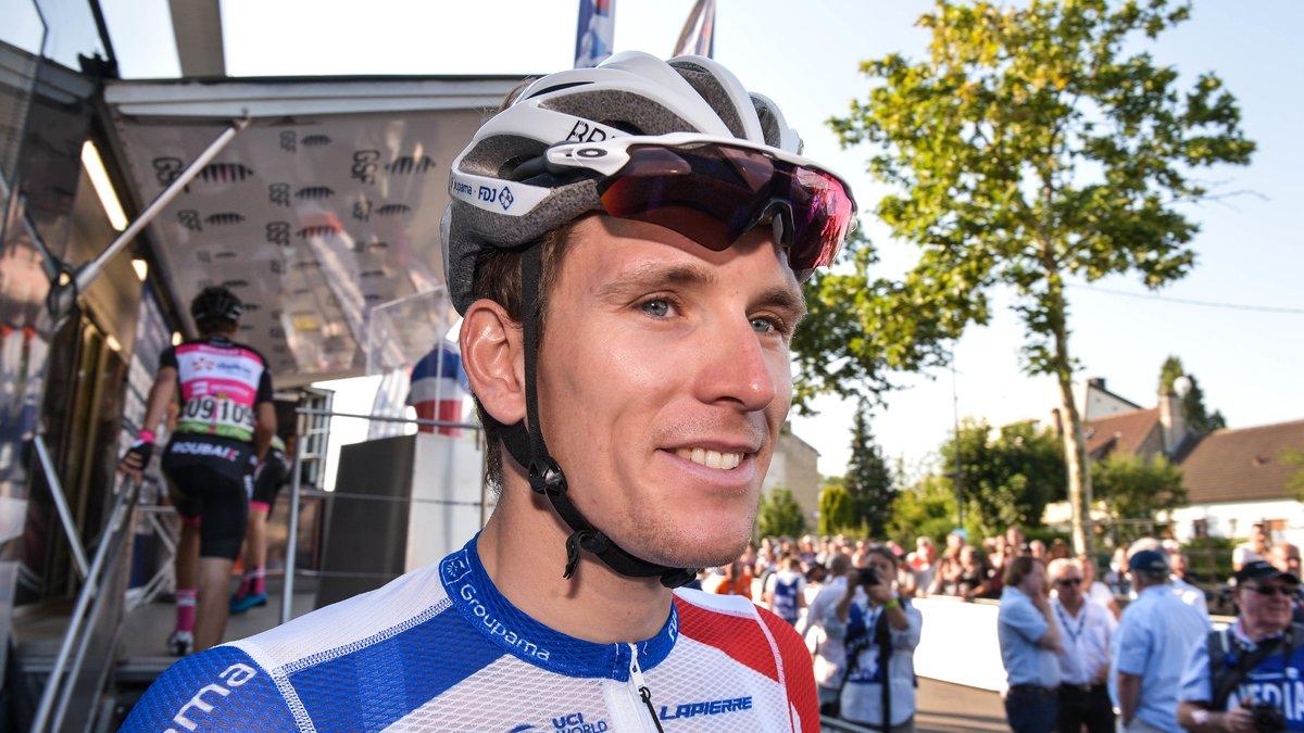 Cyclisme - Tour de France   La joie d Arnaud Démare après sa victoire sur  la 18e étape ! 593f61ae3
