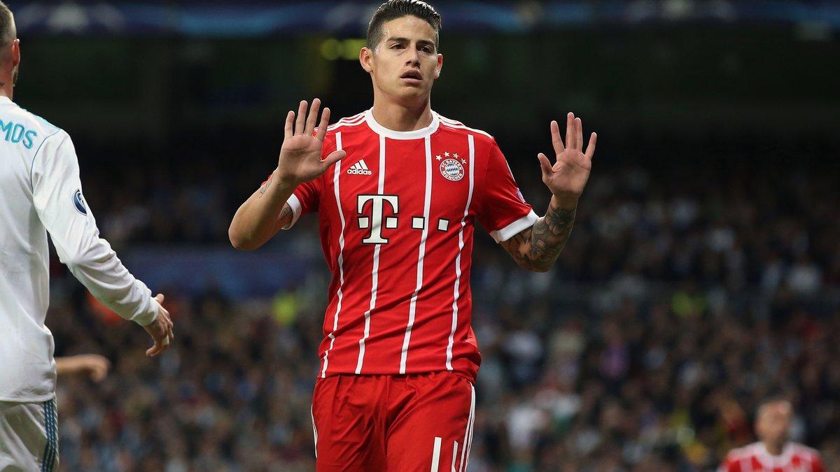 Le Bayern Munich ne va pas conserver James Rodriguez