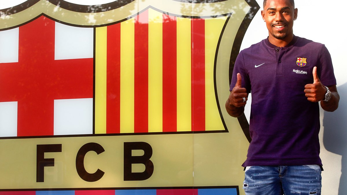Maillot Domicile FC Barcelona Malcom