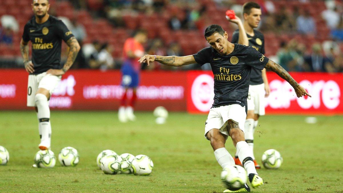 Neymar a rejoué avec le PSG