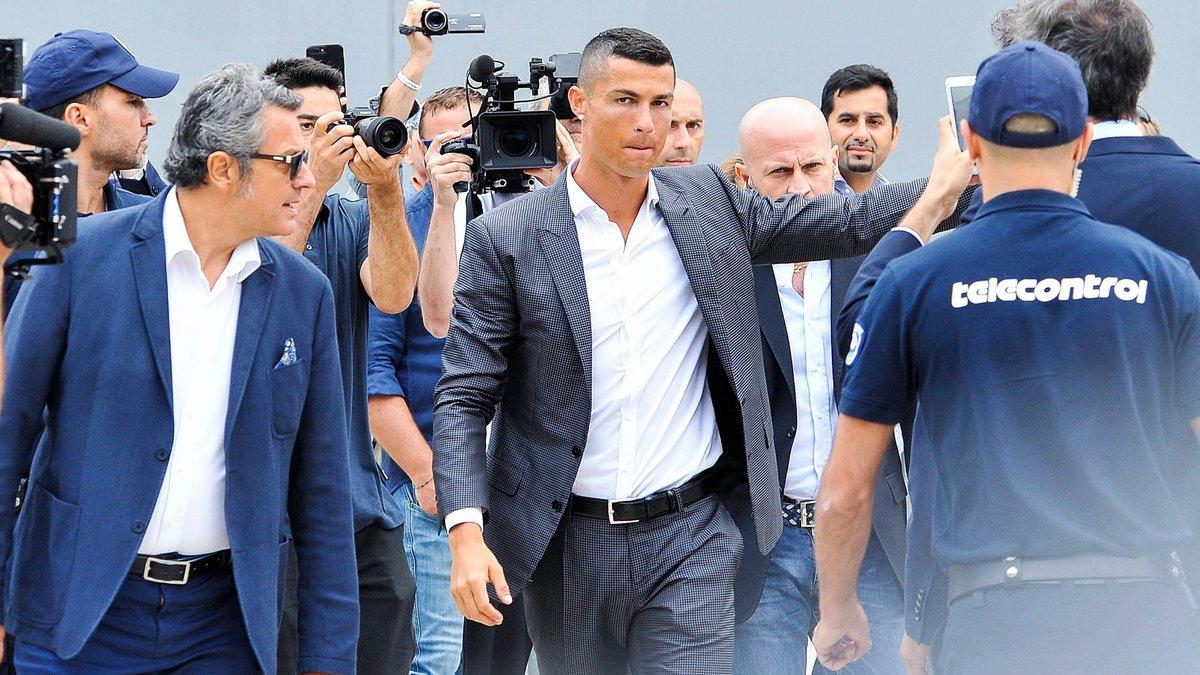 Ronaldo avec la Juve : 8 minutes et déjà un but