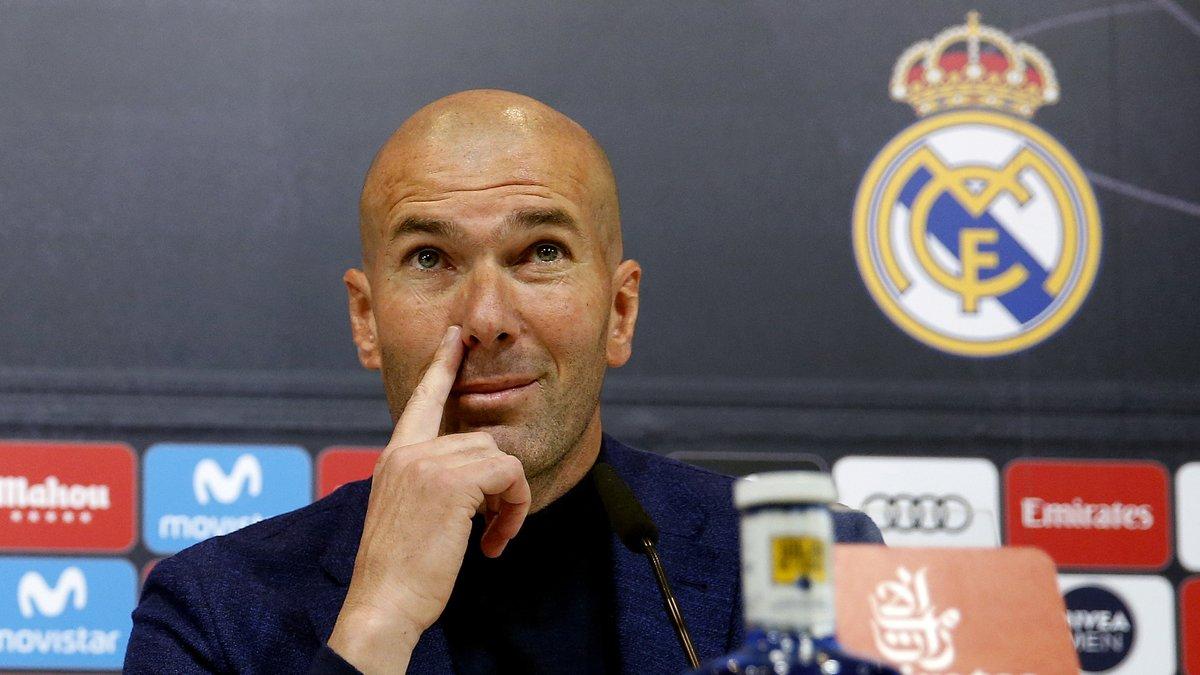 Man Utd : Zidane fait une révélation sur son avenir