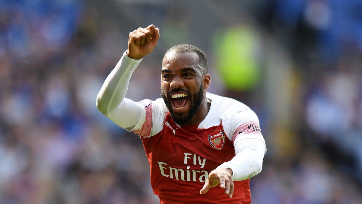 Angleterre : Alexandre Lacazette marque le but de la victoire d'Arsenal à Cardiff