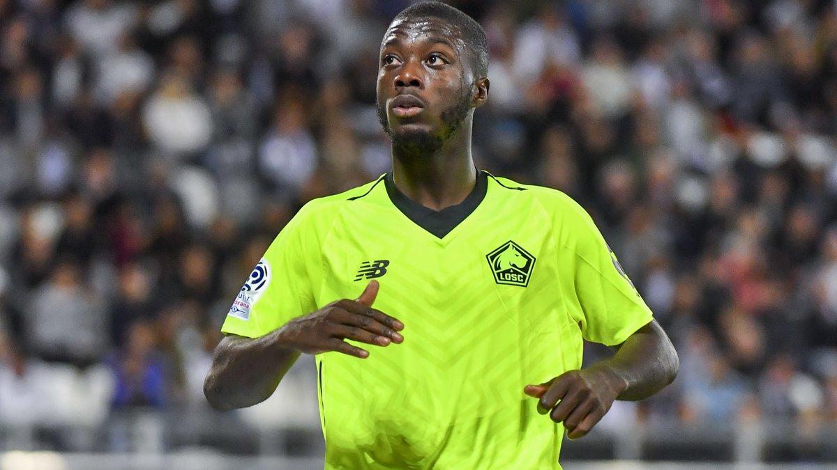 Pépé est bien dans le viseur du Barça — Lille