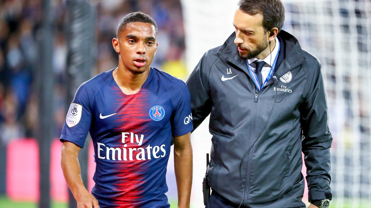 Colin Dagba et Angel Di Maria prolongent — Paris-SG