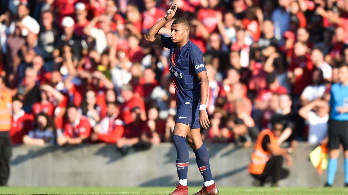 PSG - OL : Kylian Mbappé pas totalement satisfait