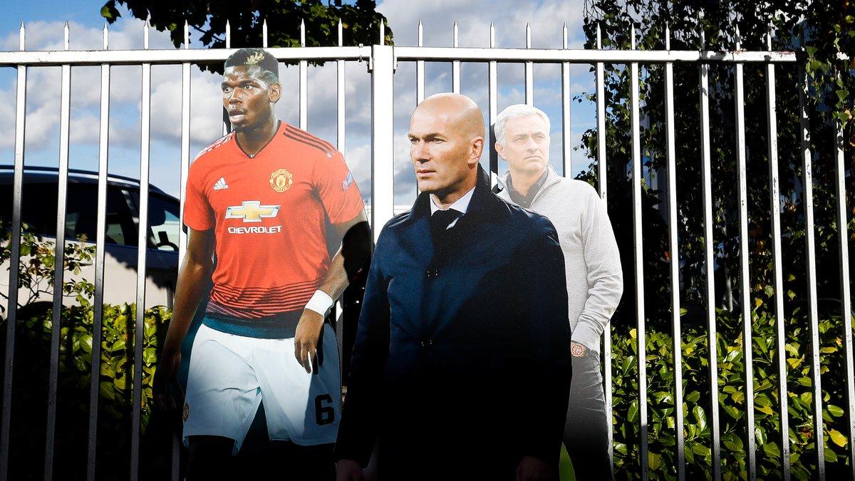 Manchester United : La tendance se confirmerait pour Zinedine Zidane