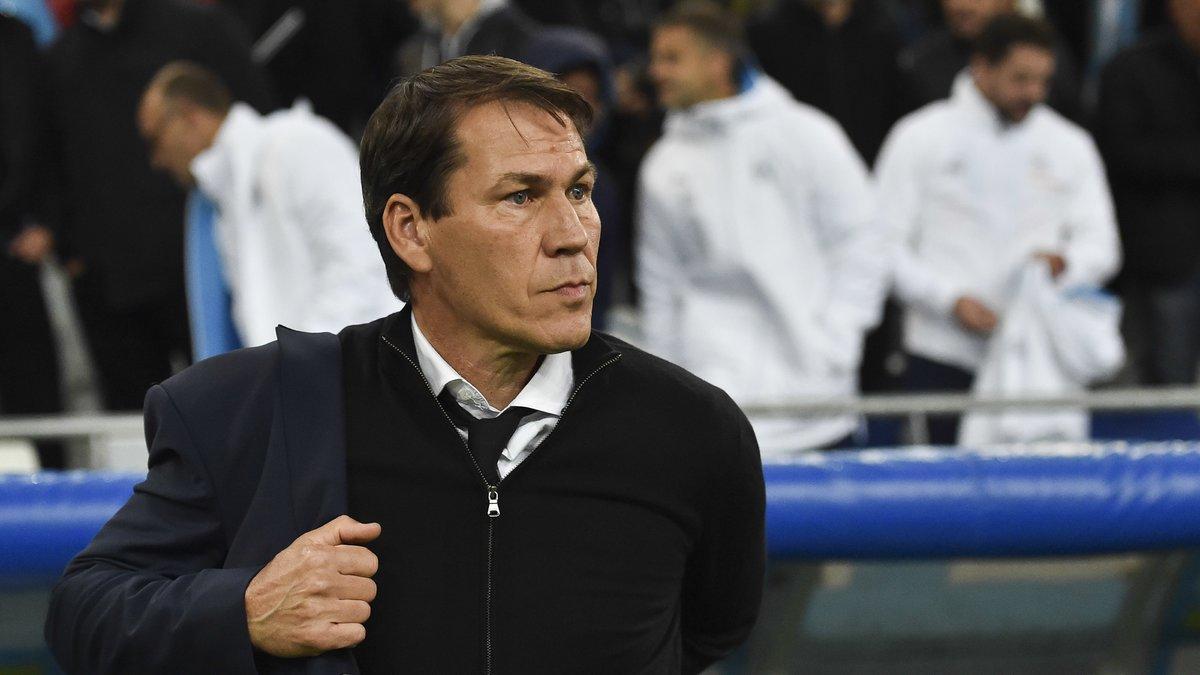 Rolando dans le groupe pour le match contre la Lazio — OM
