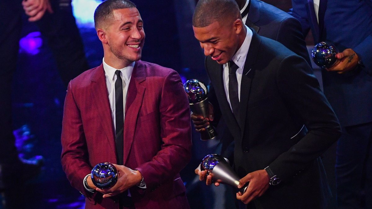 Football: Eden Hazard répond à Kylian Mbappé-Photos
