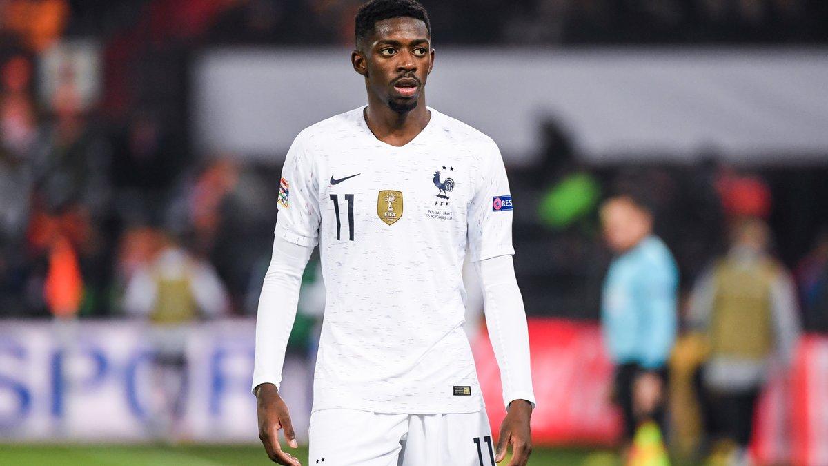 La position de Deschamps sur le cas Ousmane Dembélé — Barça