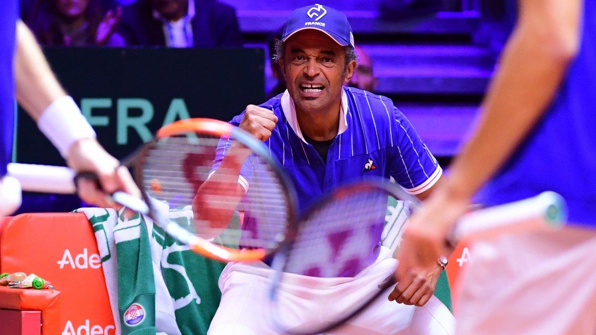 Tennis - Coupe Davis : Yannick Noah glisse un gros tacle à Gerard Piqué