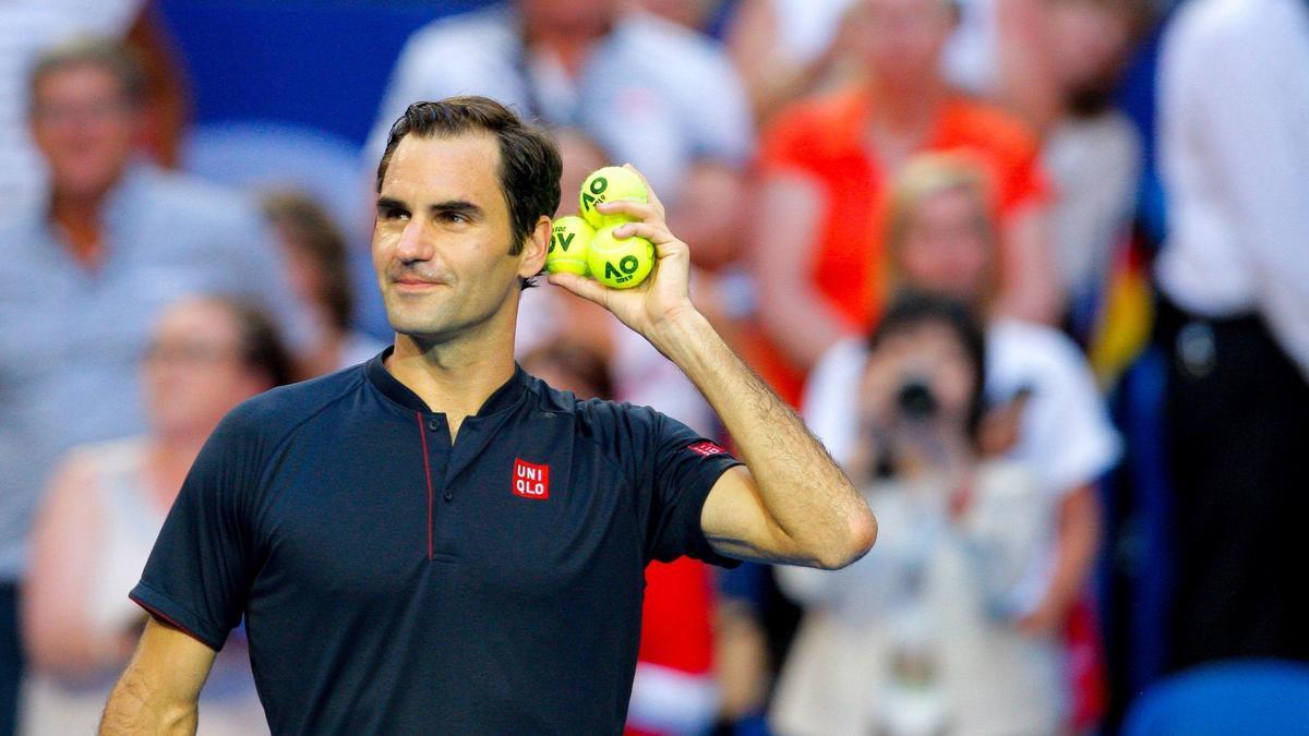 Roger Federer fond en larmes