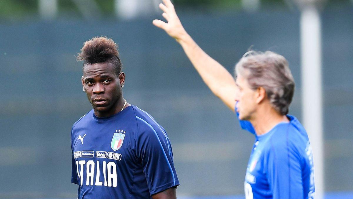 Roberto Mancini laisse la porte ouverte à Mario Balotelli — Italie