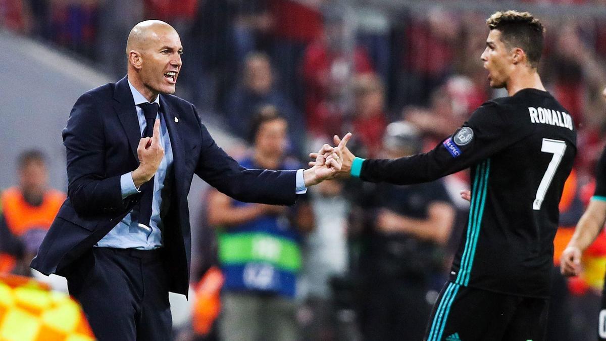 Real : Zidane est parti, Cristiano Ronaldo n'y est pas pour rien
