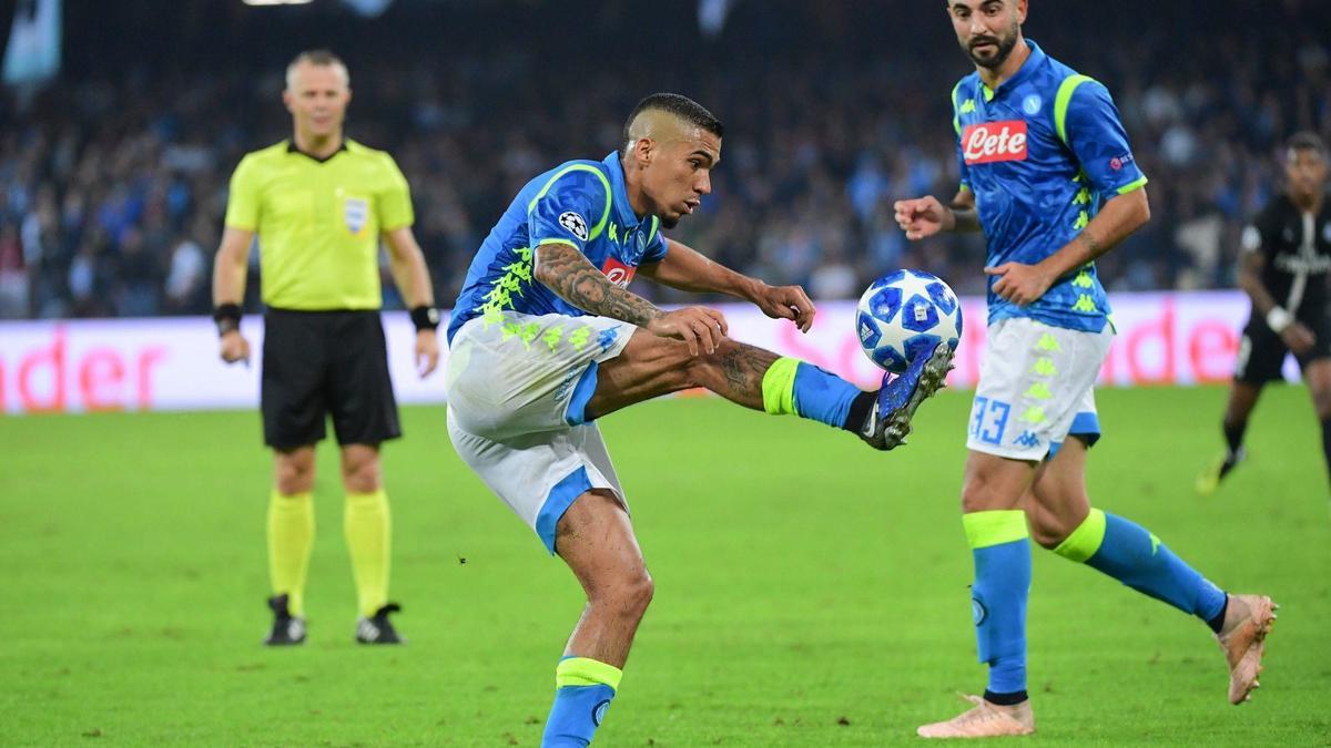 Naples : Allan trop coûteux pour le PSG ?