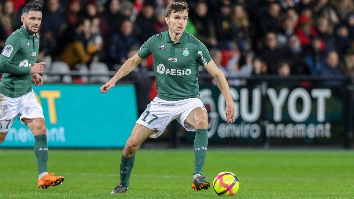 Officiel - Youssef Aït-Bennasser prêté par Monaco à Saint-Etienne