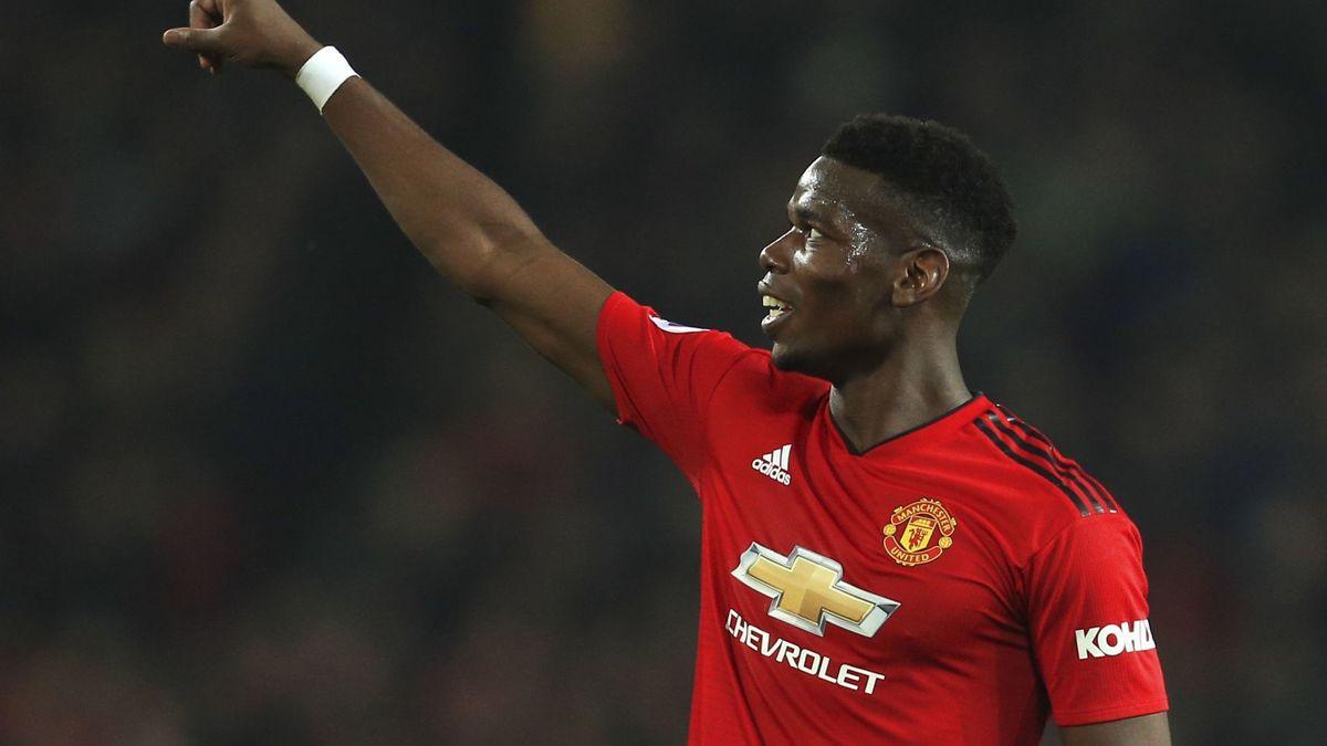 International : Manchester United: Solskjær encense Pogba
