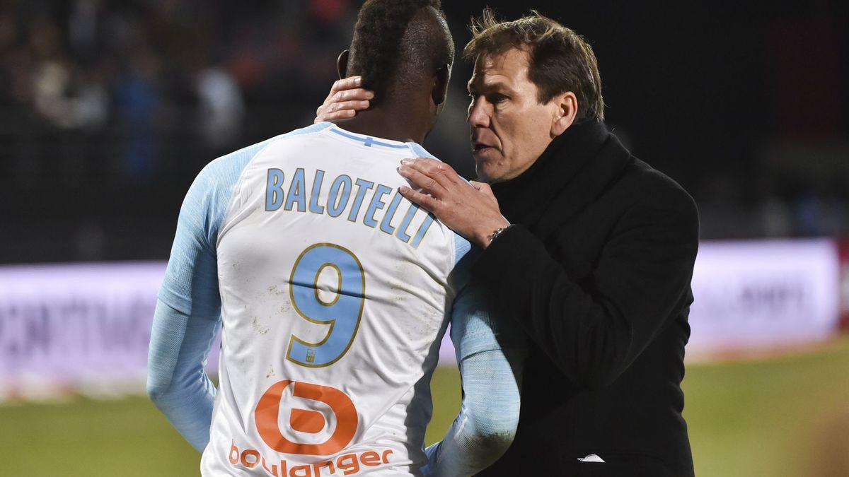 OM : Rudi Garcia décrit sa stratégie pour Mario Balotelli
