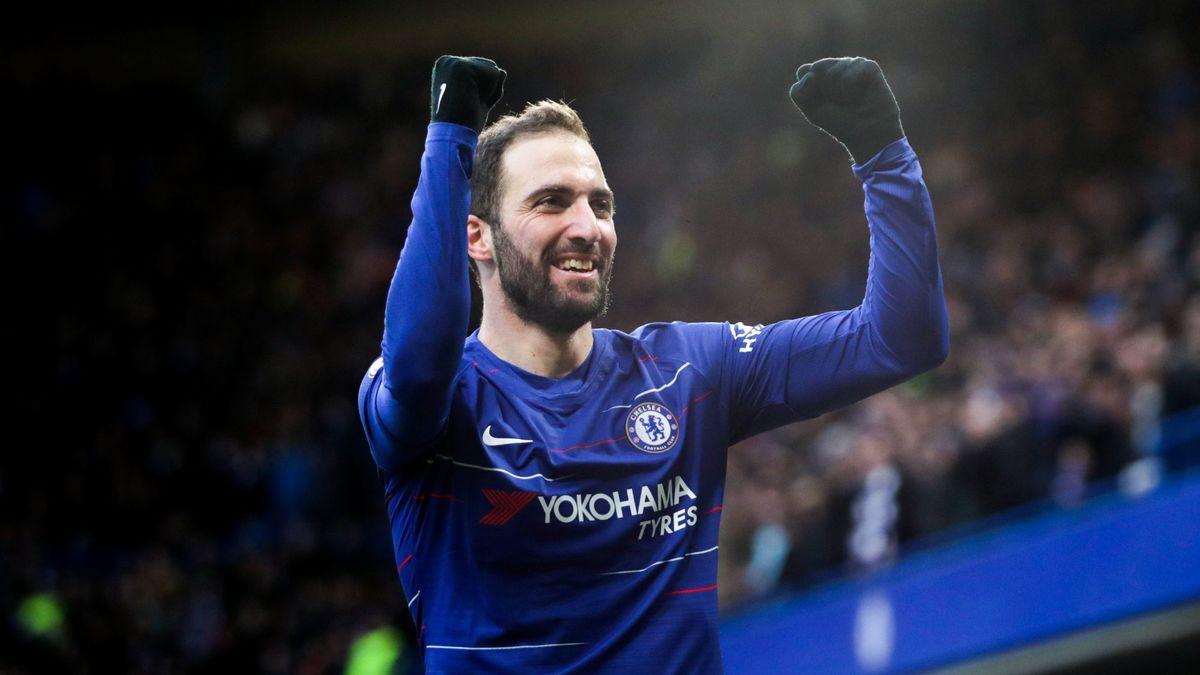 Mercato Mercato Chelsea Laveu De Gonzalo Higuain Sur Son Choix