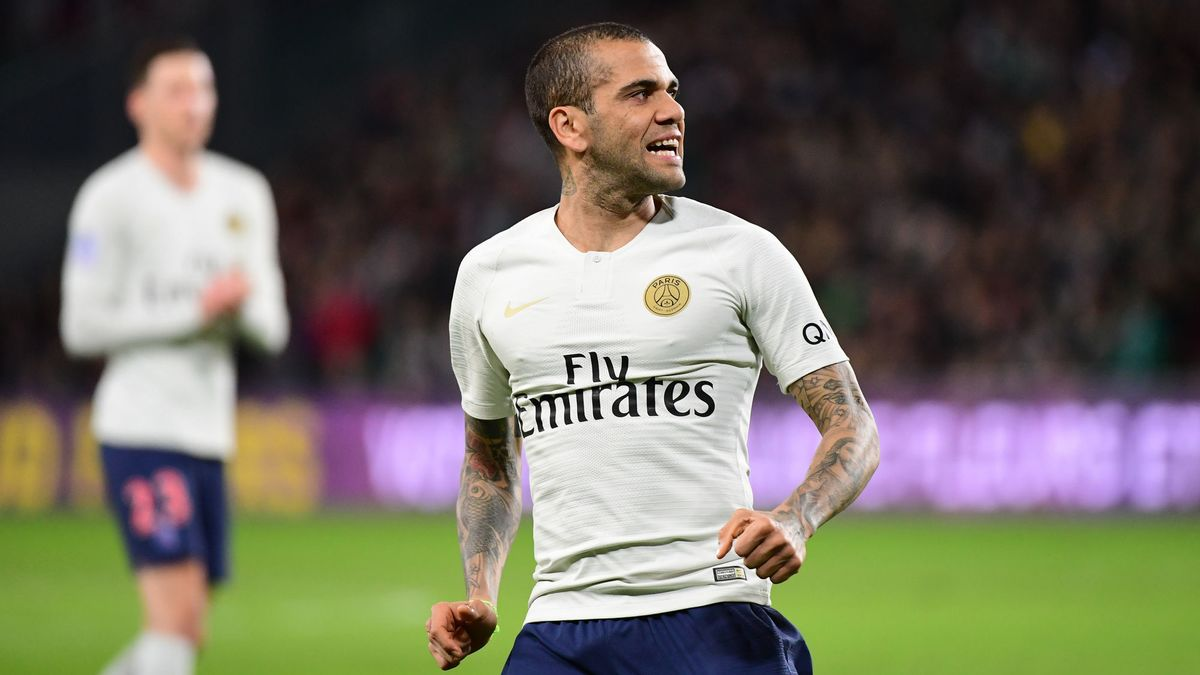 Dani Alves cambriolé pendant le match