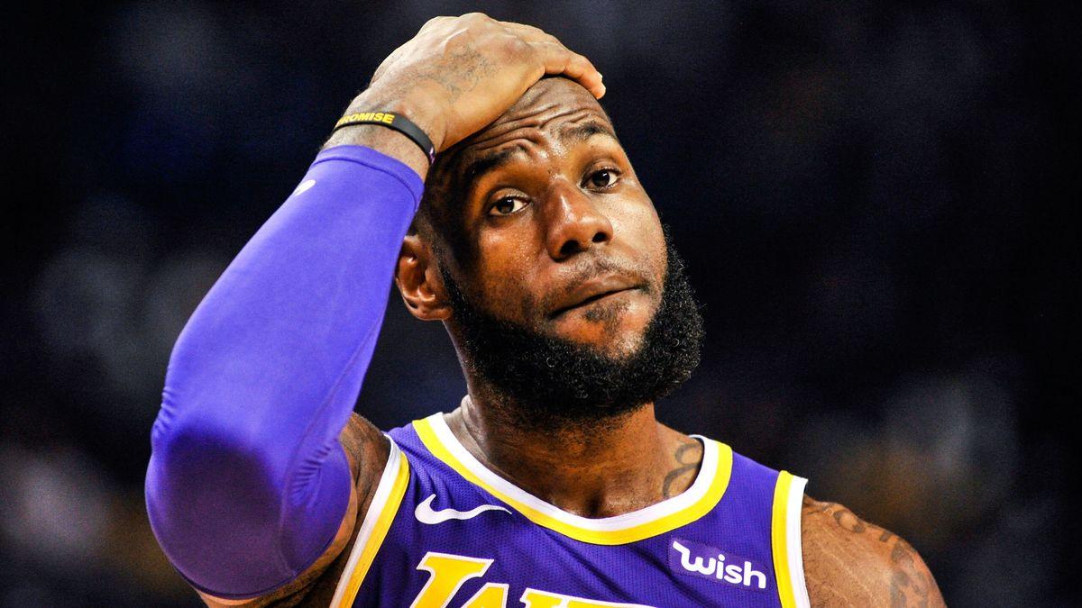 18579ab68c28 Basket - NBA   LeBron James mis au repos pour la fin de saison   La réponse  !