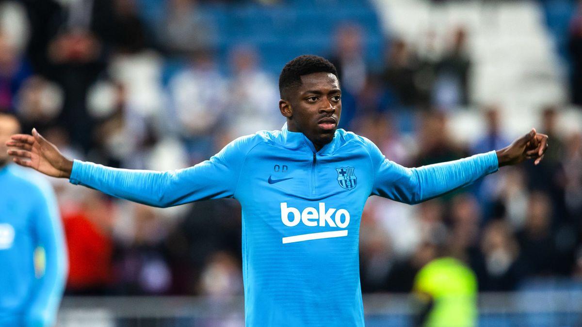 Coup dur pour Ousmane Dembélé — Barcelone