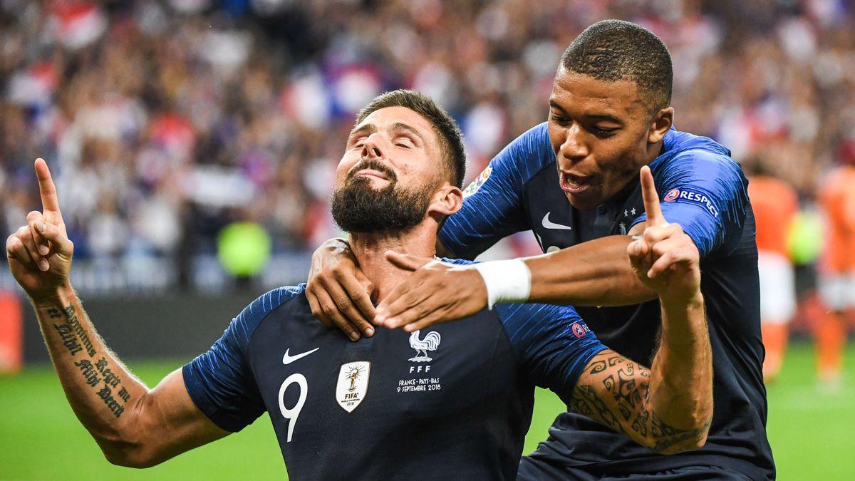 Equipe de France - PSG : Mbappé en pointe ? Deschamps préfère Giroud