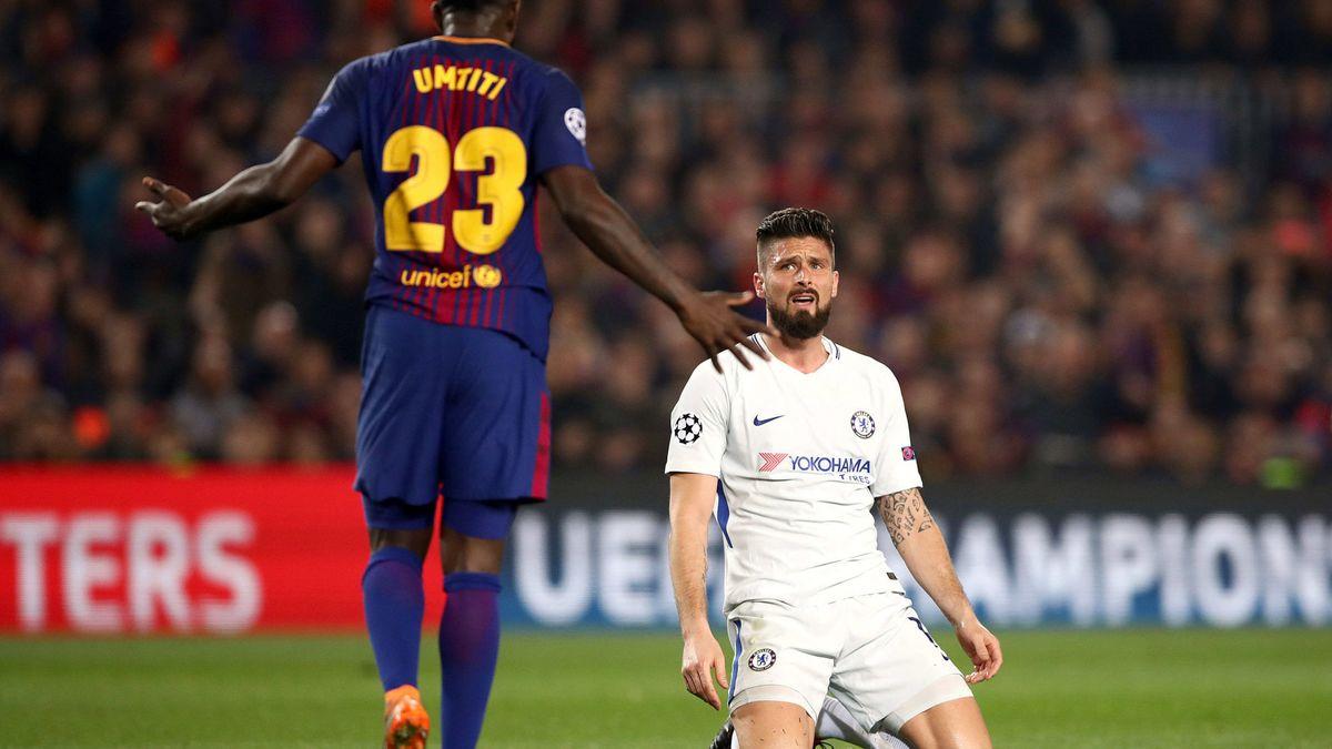 OM : Umtiti glisse un conseil à Giroud pour son avenir