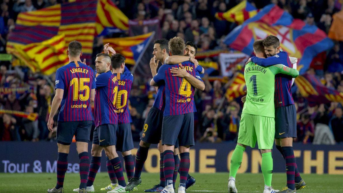 Le groupe du Barça face à Manchester United — Ligue des Champions