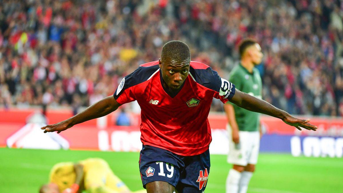 Un club italien fait une offre énorme pour Nicolas Pépé — Lille