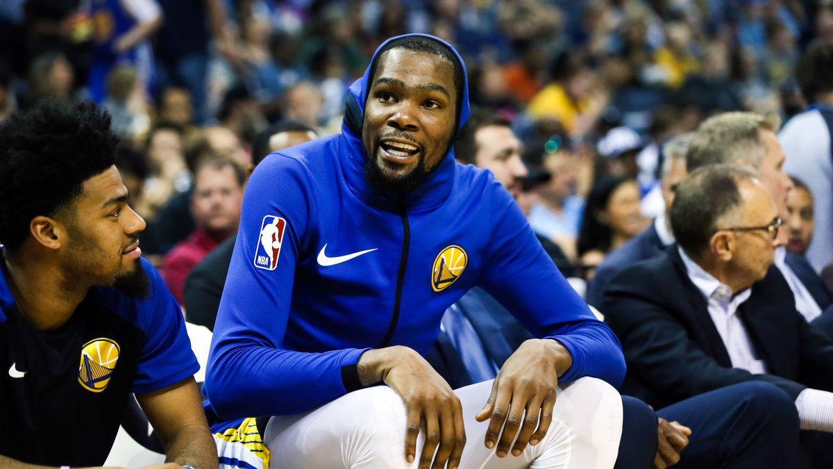 4ea2cd32a481 Basket - NBA   Kevin Durant se livre sur son arrivée aux Warriors !