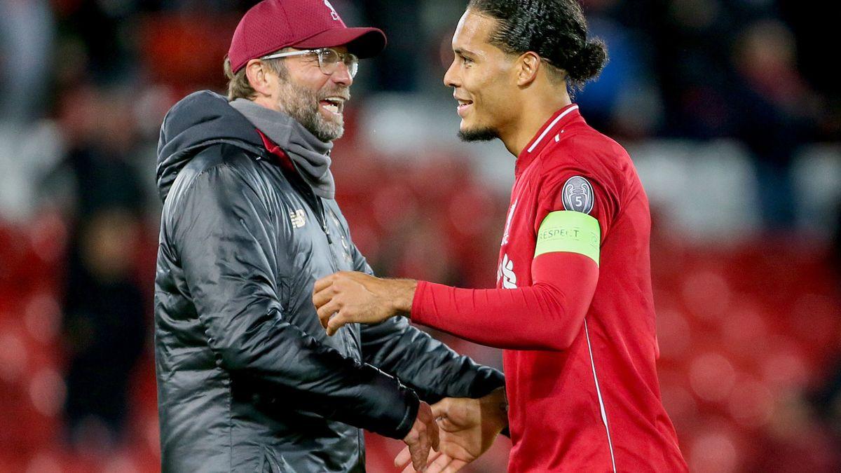 Liverpool : Pour Klopp, Van Dijk est le meilleur joueur de Premier League…