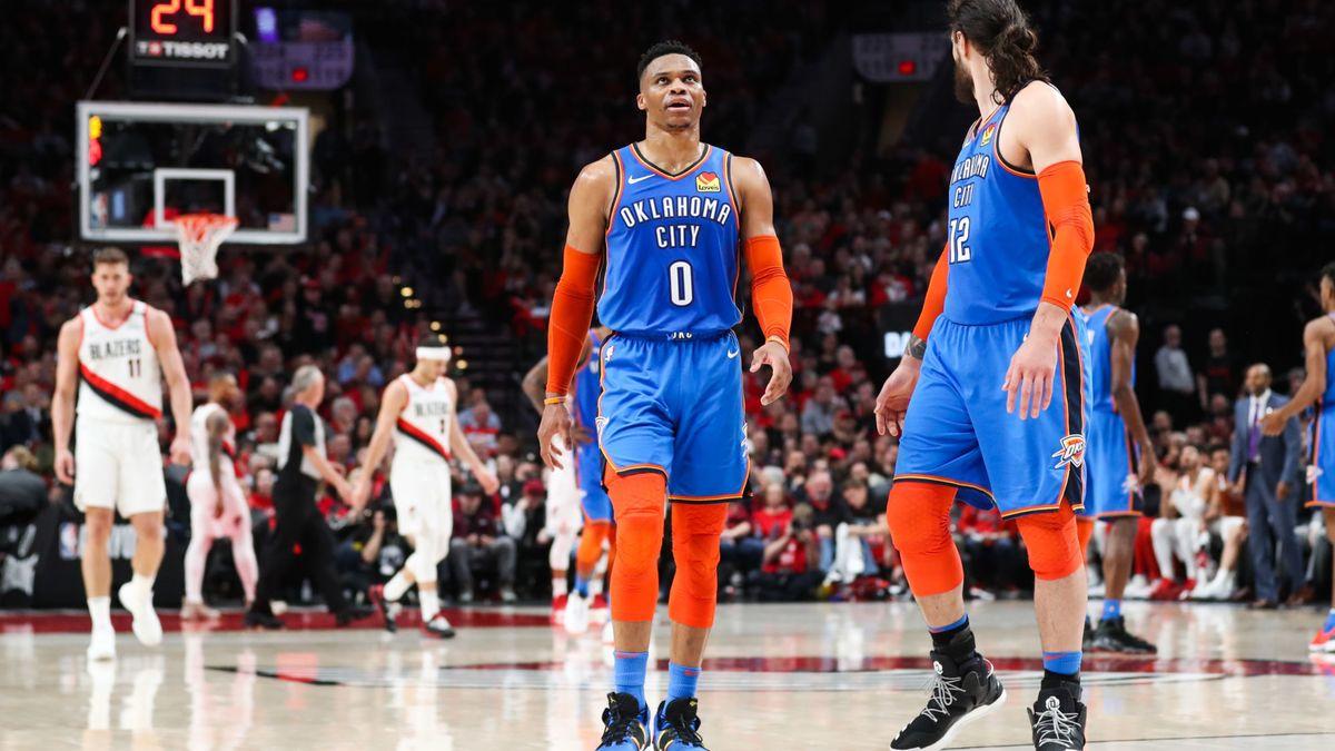 Basket - NBA : Westbrook et Paul George pas franchement optimistes pour OKC !