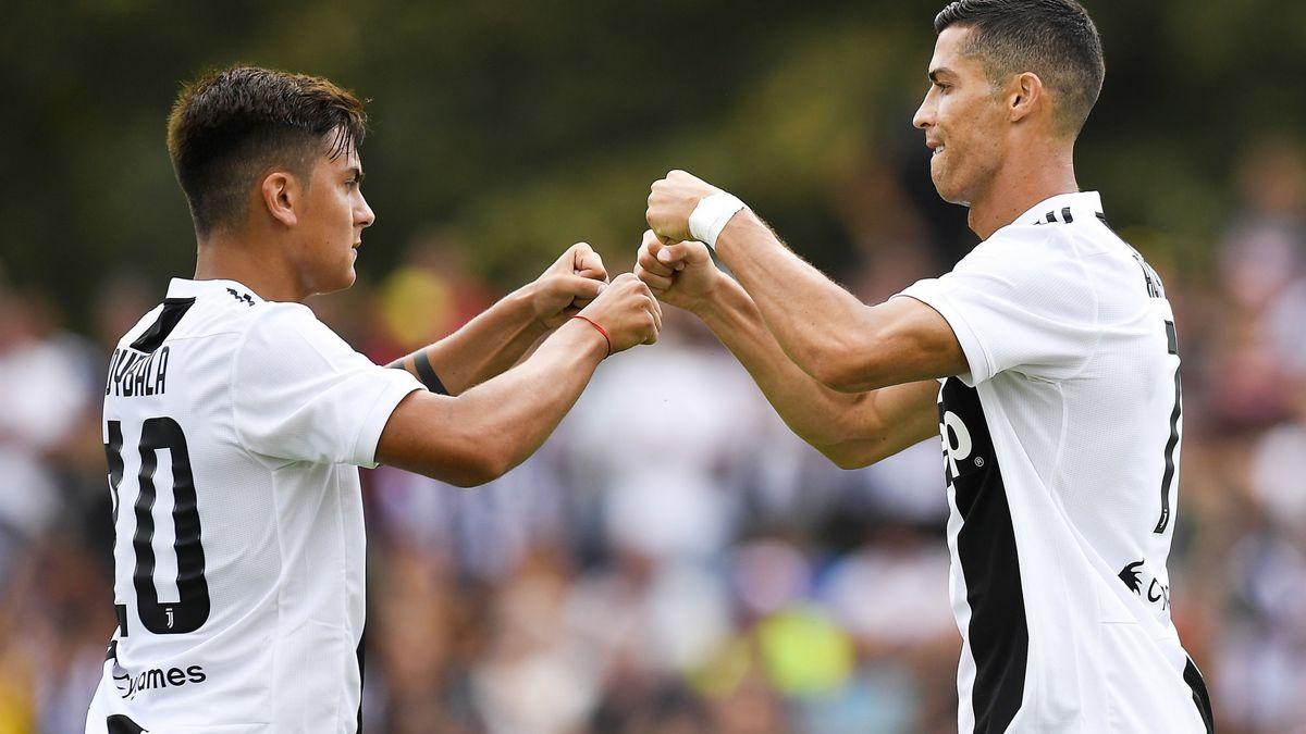 Cancelo s'enflamme pour Cristiano Ronaldo — Juventus