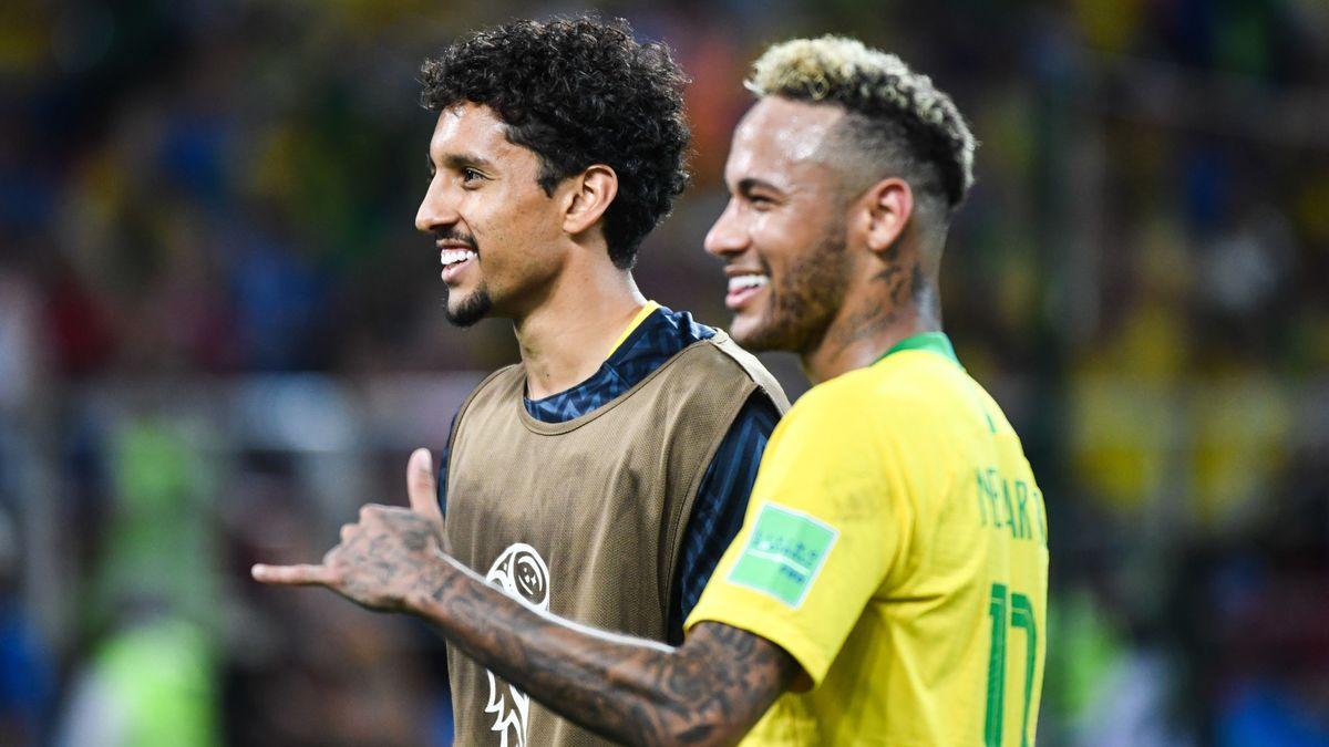 Daniel Alves n'a pas aimé le mauvais geste de Neymar — PSG