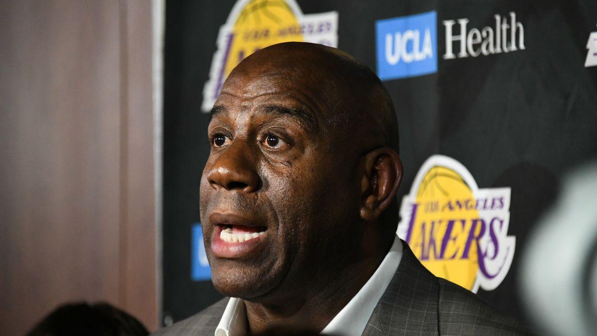 05adc78b7b7f Basket - NBA   Les vérités de LeBron James sur la démission de Magic  Johnson…
