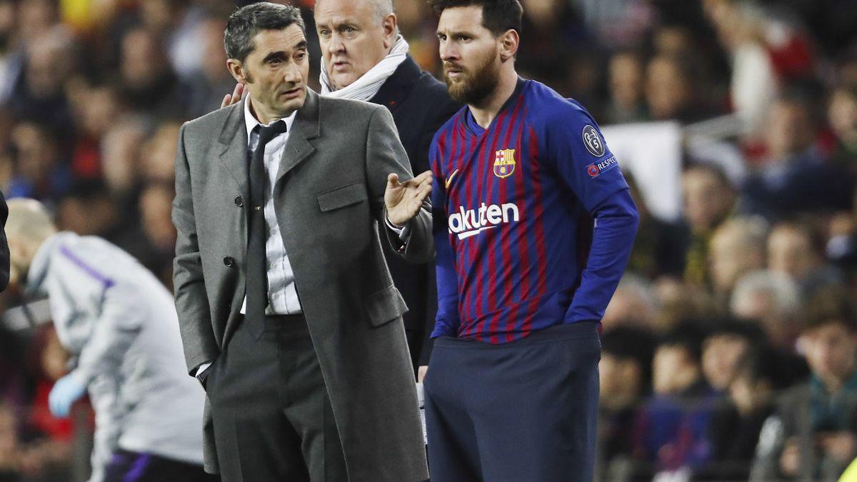 Barcelone : L'avenir de Valverde finalement dicté par Lionel Messi