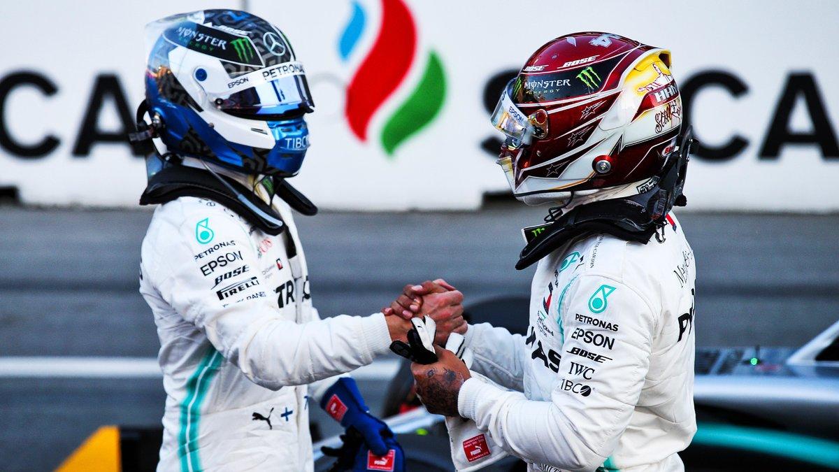 Encore un doublé Mercedes, Bottas en pole devant Hamilton — Grand Prix d'Espagne