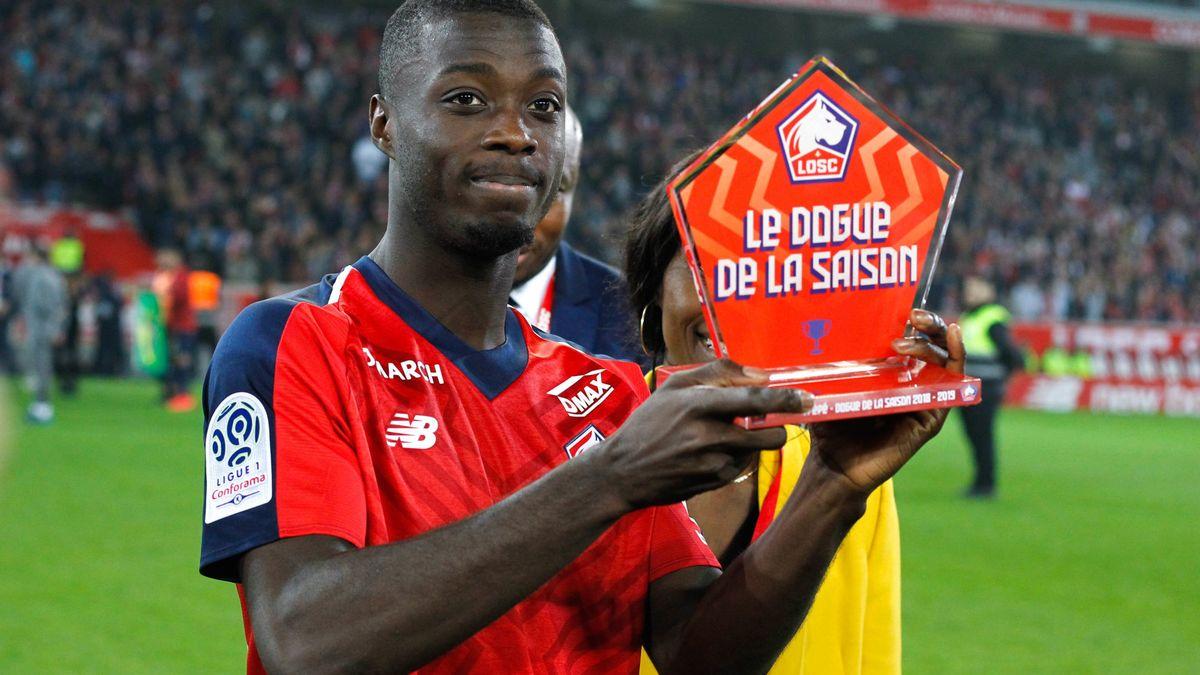 Pépé donne sa préférence au PSG — Lille