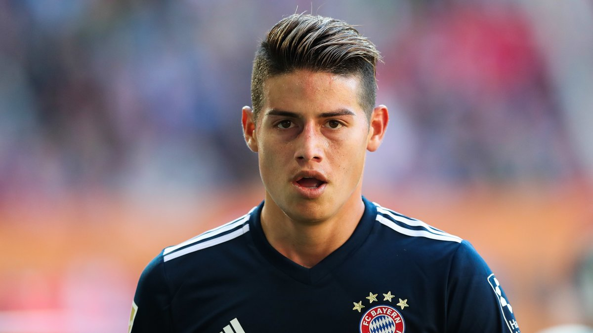 Un club italien pour sauver James Rodriguez — Real Madrid